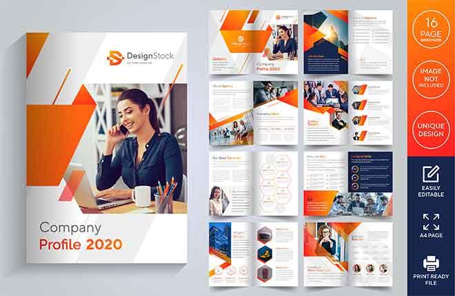 Graphic Design Company Profile